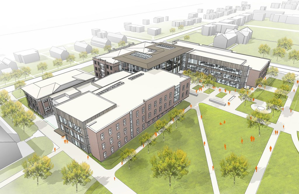 Architectural rendering of HSSC